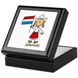 Netherlands Ethnic Keepsake Box
