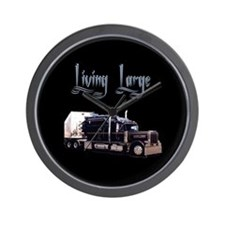 Cute Truck christmas Wall Clock