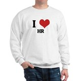 I Love HR Sweatshirt