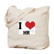 I Love HR Tote Bag