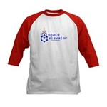 The Space Elevator Reference Kids Baseball Jersey