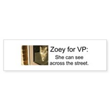 Zoey for VP Bumper Sticker (50 pk)