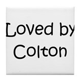 Cute Colton Tile Coaster