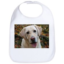 Cute Yellow labrador Bib