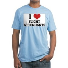 I Love Flight Attendants Shirt