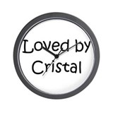 Cute Cristal Wall Clock