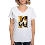 Singer Women's V-Neck T-Shirt