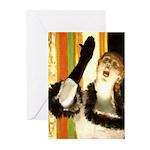 Singer Greeting Cards (Pk of 10)