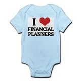I Love Financial Planners Infant Creeper