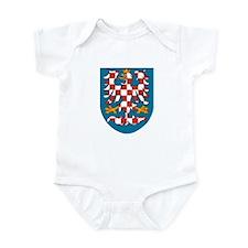 Moravia Coat of Arms Infant Bodysuit