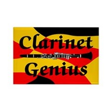 Clarinet Genius Rectangle Magnet (100 pack)