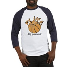 Basketball - My Life Baseball Jersey