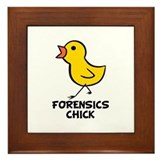 Chick Framed Tile