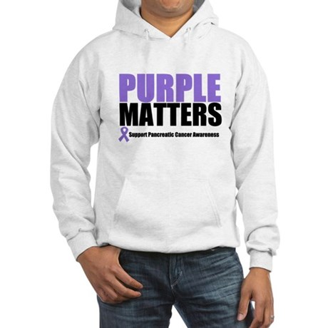 Pancreatic Cancer Hooded Sweatshirt