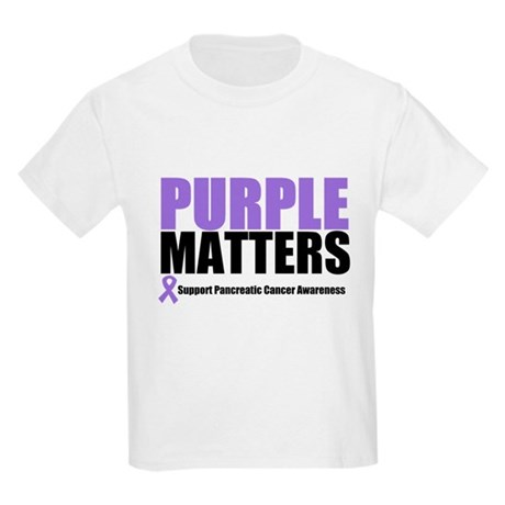 Pancreatic Cancer Kids Light T-Shirt