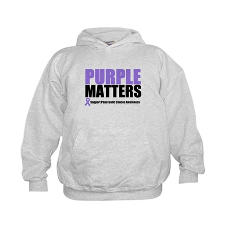 Pancreatic Cancer Kids Hoodie