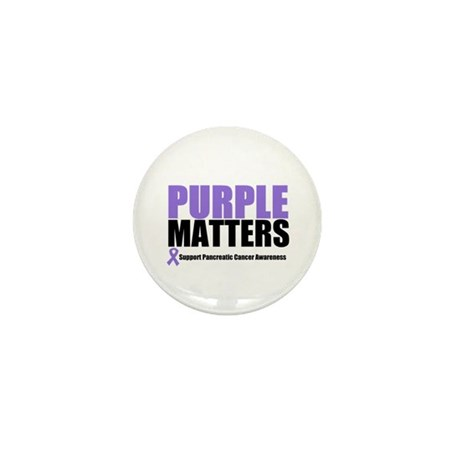 Pancreatic Cancer Mini Button