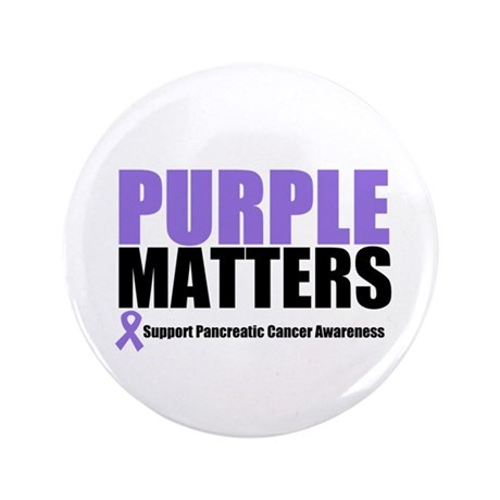 "Pancreatic Cancer 3.5"" Button"