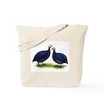 Royal Purple Guineas Tote Bag