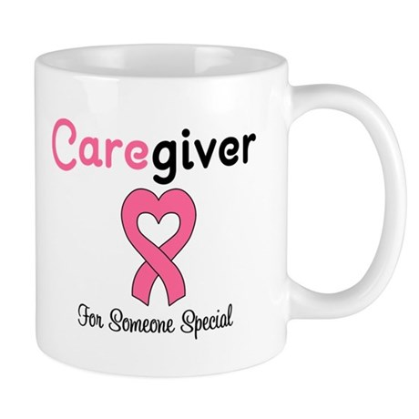 Caregiver Breast Cancer Mug