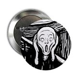 "Munch's The Scream 2.25"" Button"