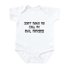 Call my evil minions Infant Bodysuit