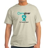 Caregiver Teal Ribbon T-Shirt