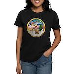 XmasMagic/Lab (yllow) Women's Dark T-Shirt