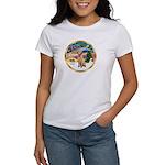 XmasMagic/Lab (yllow) Women's T-Shirt