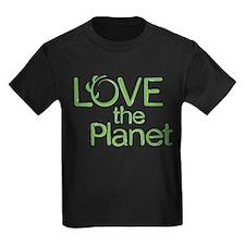 Love the Planet Kids T-Shirt (Dark)