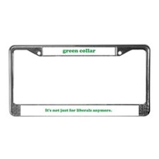 Cute Green lifestyle License Plate Frame