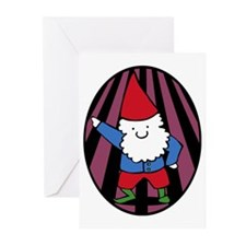 Disco Gnome Greeting Cards (Pk of 10)