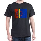 Flag of the Sami People T-Shirt