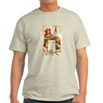 Thanksgiving Menu Light T-Shirt