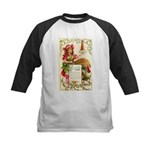 Thanksgiving Menu Kids Baseball Jersey