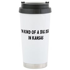I'm Kind of a Big Deal in Kan Ceramic Travel Mug
