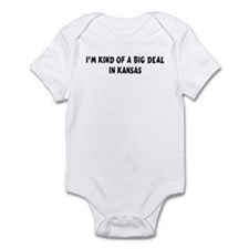 I'm Kind of a Big Deal in Kan Infant Bodysuit