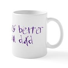 2-dadrides_color Mugs