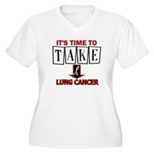 Take Down Lung Cancer 3 T-Shirt