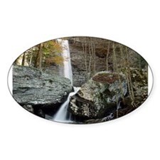 Ozone Falls Oval Sticker (10 pk)