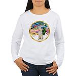 XmasMagic/Spinone #11 Women's Long Sleeve T-Shirt