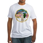 XmasMagic/Spinone #11 Fitted T-Shirt