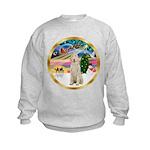 XmasMagic/Spinone #11 Kids Sweatshirt