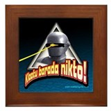 Gort!... Framed Tile