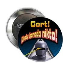 "Gort!... 2.25"" Button (100 pack)"