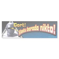 Gort!... Bumper Sticker (50 pk)