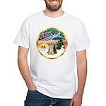 XmasMagic/Beardie #16 White T-Shirt
