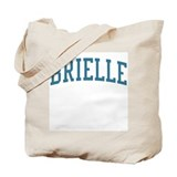 Brielle New Jersey NJ Blue Tote Bag