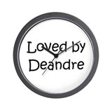 Cute Deandre Wall Clock