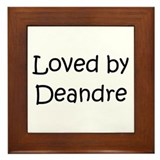 Cute Deandre Framed Tile